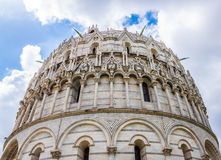Pisa Duomo Katedralni di Pisa z Oparty wierza Pisa na piazza dei Miracoli w Pisa Obrazy Royalty Free