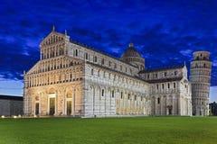 Pisa Duomo Tower Rise Royalty Free Stock Photo