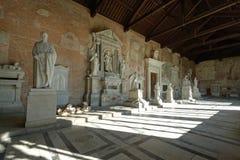 Pisa, Einzelheit des monumentalen Kirchhofs Lizenzfreie Stockfotografie