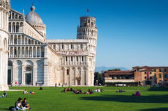 Pisa em novembro Imagem de Stock