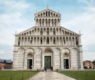 Pisa - facade of cathedral Royalty Free Stock Photos