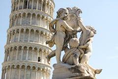 Pisa Fontana dei Putti 02 royaltyfri fotografi