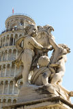 Pisa Fontana dei Putti 01 Stock Image