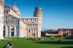 Pisa i November Fotografering för Bildbyråer