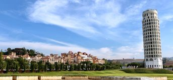 Pisa i Thailand royaltyfria foton