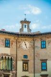 Pisa, Italië - Klokpaleis Stock Afbeeldingen