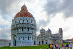 Pisa, Italia Fotografie Stock Libere da Diritti