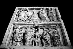 PISA, ITALIA - CIRCA FEBRERO DE 2018: Museo de Sinopie en el cuadrado de milagros imágenes de archivo libres de regalías