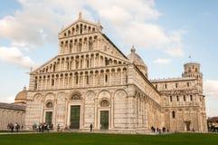 Pisa, Italien 22. Oktober 2013: Die Basilika von Santa Maria Assunta B Stockfotografie