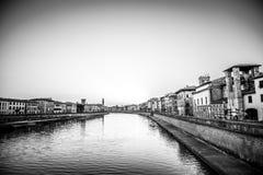Pisa Italien sikt Royaltyfria Foton