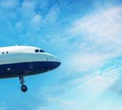 PISA, ITALY - AUG 25, 2015: British Airways airplane lands in Pi Royalty Free Stock Image