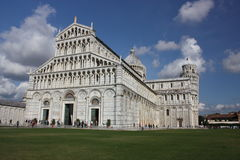 Pisa in Italy. Cathedral Santa Maria del Fiore in Florence in Italy Royalty Free Stock Photos