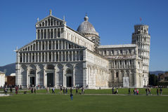 Pisa, Italy. Duomo and Leaning Tower Stock Image