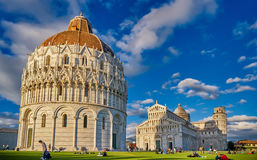 Pisa Italy, The Leaning Tower of Pisa Stock Images