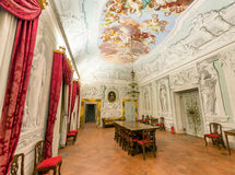PISA, ITALY - MAY 16, 2015: Interior of Calci Charterhouse. The Royalty Free Stock Photos