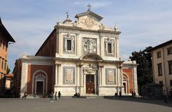 Church of the Knights of the Order of St. Stephen in Pisa, Italy Stock Photos