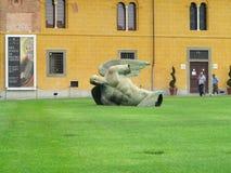 14.06.2017, Pisa, Italy:Statue of fallen angel by Igor Mitoraj o Stock Photos