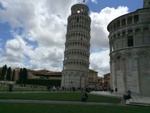 Pisa. Italy traveling history landscape Royalty Free Stock Photos