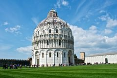 Pisa, Italy. A view of Piazza dei Miracoli in Pisa - Toscana Stock Images