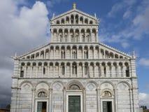 Pisa katedra na piazza dei Miracoli w Pisa, Tuscany, Włochy Zdjęcie Royalty Free