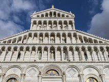 Pisa katedra na piazza dei Miracoli w Pisa, Tuscany, Włochy Obraz Stock