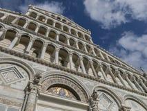 Pisa katedra na piazza dei Miracoli w Pisa, Tuscany, Włochy Fotografia Stock