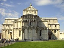 pisa katedralny kwadrat s Pisa, Włochy Zdjęcie Stock