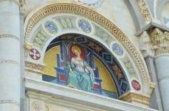 Pisa katedry szczegóły Obraz Royalty Free