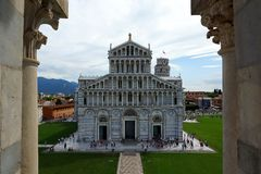 Pisa - Kathedrale Stockfotos