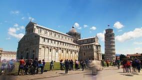 Pisa-Kathedrale, Italien-timelpase stock footage