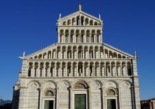 Pisa-Kathedralenfront lizenzfreies stockbild