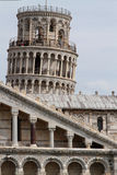 Pisa is known worldwide for its leaning tower Royalty Free Stock Photo