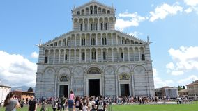 Pisa kyrka royaltyfri foto