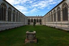 Pisa - kyrkogård Camposanto Arkivbild