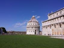 Pisa, La-Marktplatz dei Miracoli Stockbilder