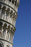 Pisa, the leaning tower detail Royalty Free Stock Image