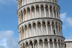 Pisa leaning tower detail Stock Photos