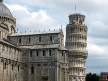 Pisa - Leaning Tower and Duomo Stock Images