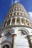 Pisa Leaning tower. The Leaning Tower of Pisa (Italian: Torre pendente di Pisa) is the freestanding bell tower of the cathedral of the Italian city of Pisa Stock Photos