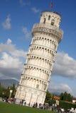 Pisa, lehnender Kontrollturm Stockfotos