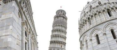 Pisa-lehnender Kontrollturm Lizenzfreies Stockfoto