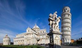Pisa, lugar dos milagre foto de stock