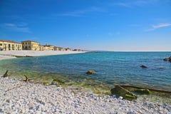 Pisa Marina Beach Pisa Italy Stock Afbeeldingen