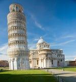 Pisa, Marktplatz dei miracoli. stockfoto