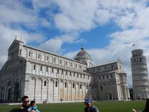 Pisa - Marktplatz dei Miracoli lizenzfreies stockbild