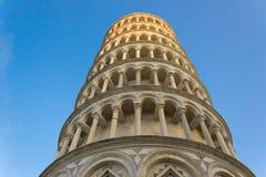 Pisa med solljus Arkivfoton