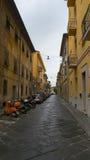 Pisa miasto, Włochy Widok stare ulicy i różnorodni budynki Obraz Royalty Free