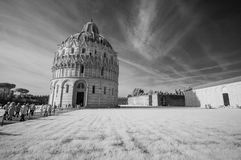 Pisa, Miracles Square. Stock Images