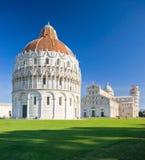 Pisa, miracoli del dei de la plaza. foto de archivo