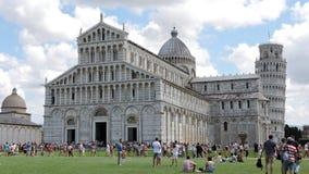 Pisa, miracoli di dei della piazza, paesaggio fotografia stock